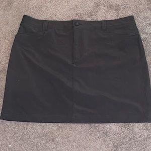 Eddie Bauer 14 skirt skort grey women's athletic